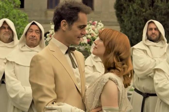 Andrés e Tatiana si sposano nella quarta parte de La Casa di Carta