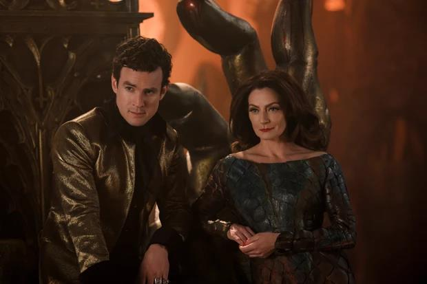 Lucifero e Lilith nel Regno degli Inferi
