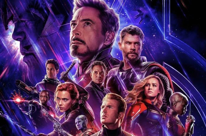 Gli Avengers nel poster ufficiale di Endgame