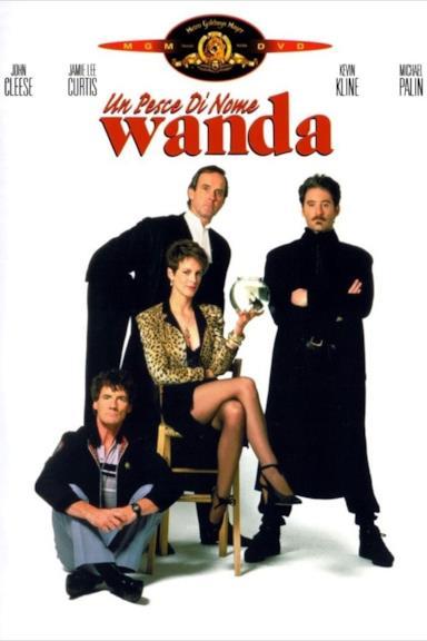Poster Un Pesce Di Nome Wanda