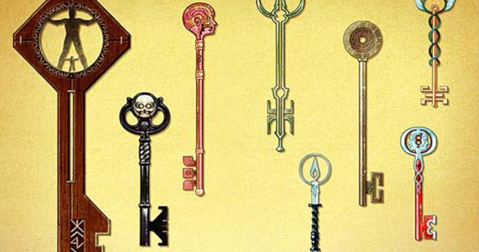 Locke & Key tutte le chiavi dei fumetti