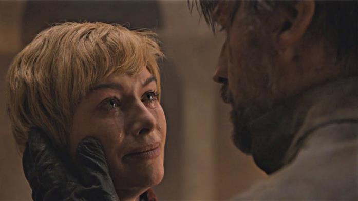 Lena Headey e Nikolaj Coster-Waldau in Game of Thrones 8