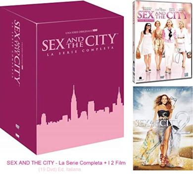 Cofanetto DVD di Sex and the City - Stagioni 1-6 + 2 film