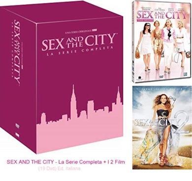 Cofanetto DVD di Sex and the City - Stagioni 1-6 + 2 film