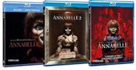 Annabelle La Trilogia 1-2-3 (3 Film Blu Ray-Disc) - Edizione Italiana
