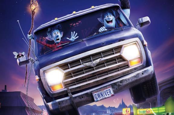I fratelli Lightfoot all'interno del loro veicolo