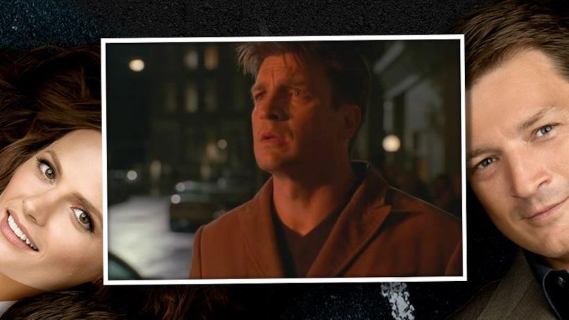 3) Castle teme che Beckett sia morta nell'esplosione del suo appartamento.