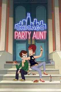 Poster Chicago Party Aunt