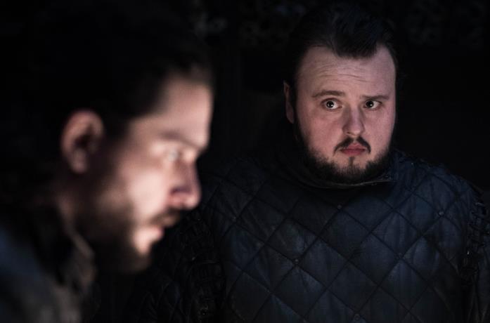 Sam e Jon nel secondo episodio di Got 8