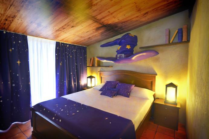 Stanza Grande Mago per adulti - Gardaland Magic Hotel