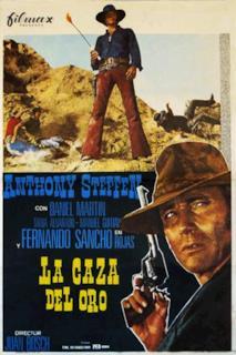 Poster La caza del oro