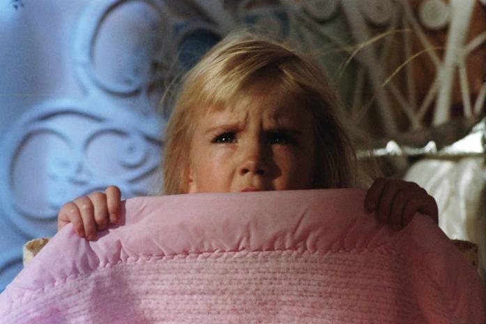 La piccola Heather O'Rourke protagonista di Poltergeist