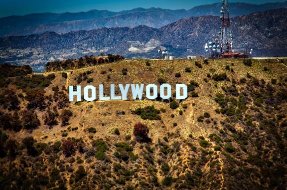La visuale di Hollywood