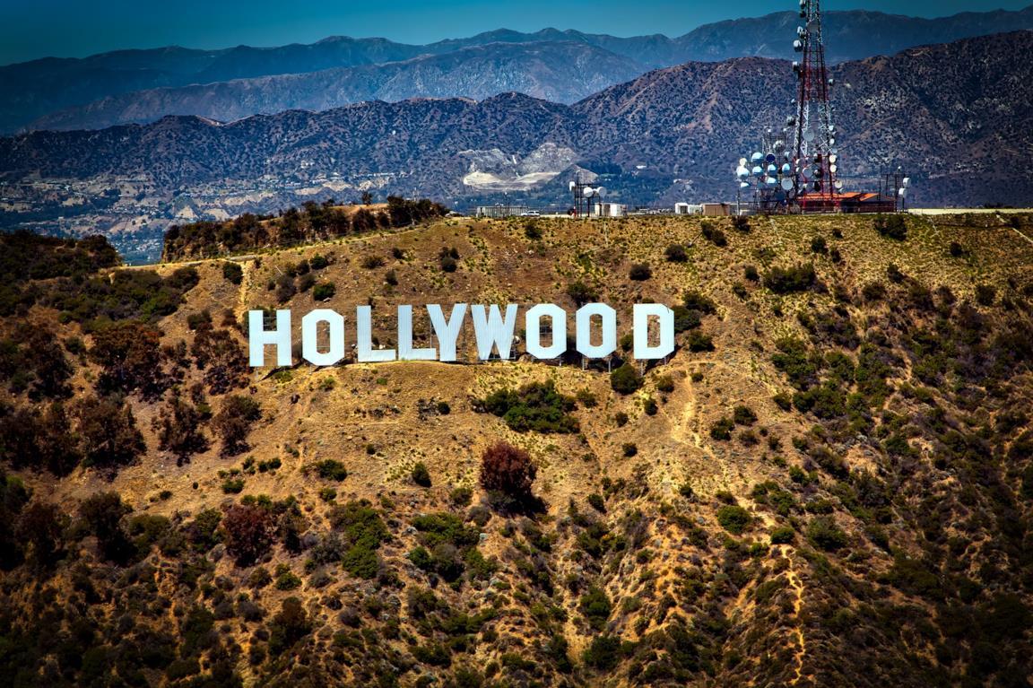 La visuale di Hollywood