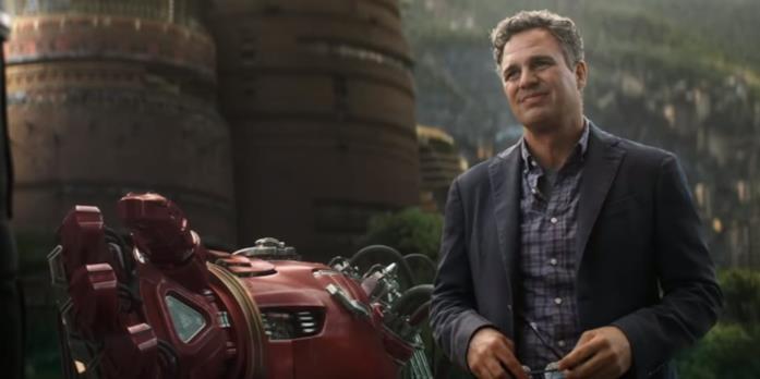 Una parte della Hulkbuster nel trailer di Avengers: Infinity War