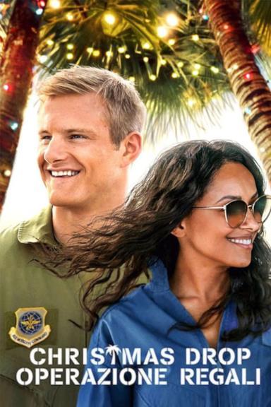 Poster Christmas Drop: operazione regali