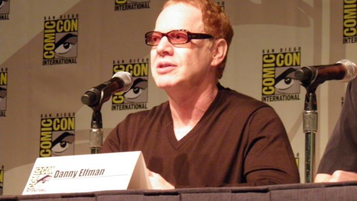 Danny Elfman in primo piano al Comic-Con