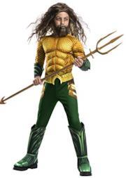 Rubie's - Costume ufficiale DC Aquaman The Movie, per bambini, taglia L 8-10 anni