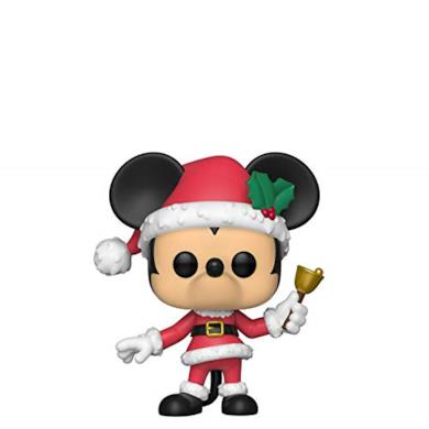 Funko- Pop Figura in Vinile Disney: Holiday-Mickey Collezione, Multicolore, 43327