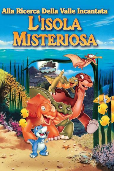Poster Alla ricerca della valle incantata 5 - L'isola misteriosa