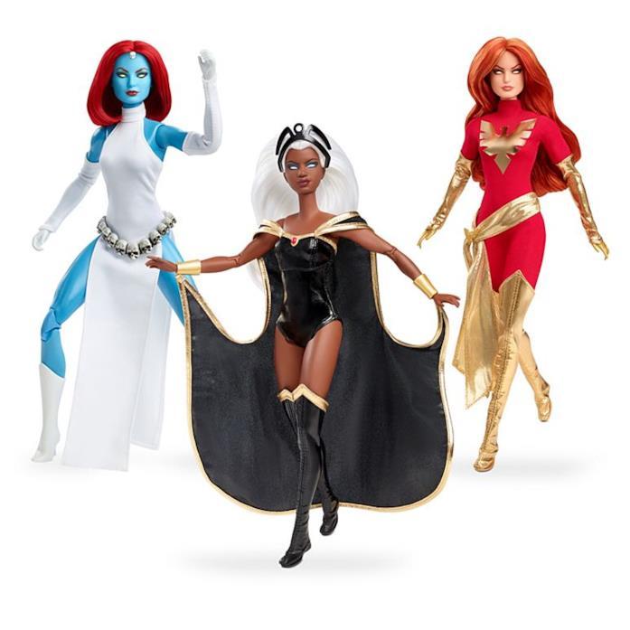 Tre Barbie per X-Men