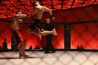 Una scena di combattimento del film Bartkowiak
