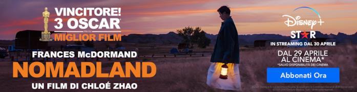 Nomadland in uscita al cinema e su Disney+