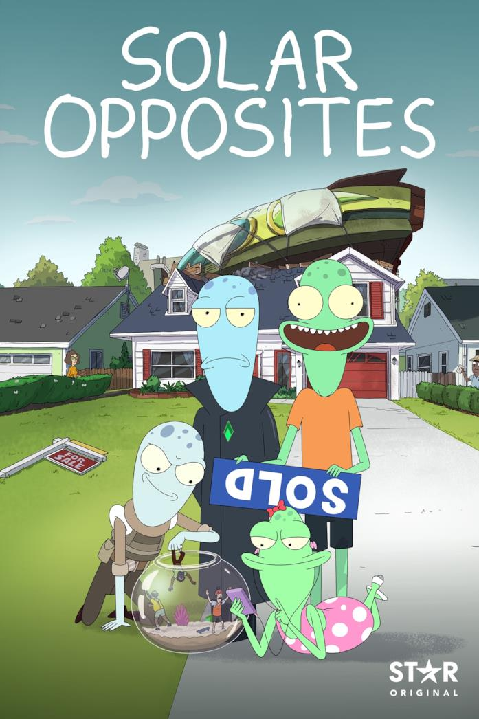 Il poster di Solar Opposites