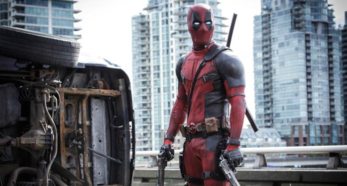 Deadpool impugna due pistole