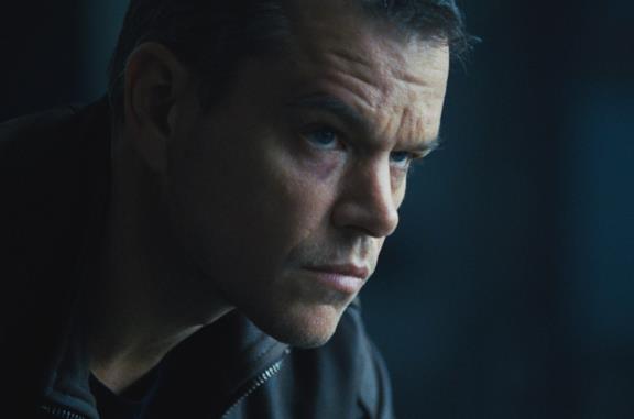 Matt Damon in una scena del film Jason Bourne