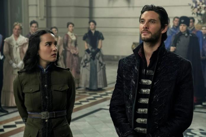 Alina e il Darkling interpretati da Jessie Mei Li e Ben Barnes
