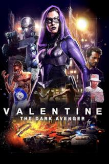 Poster Valentine - The Dark Avenger