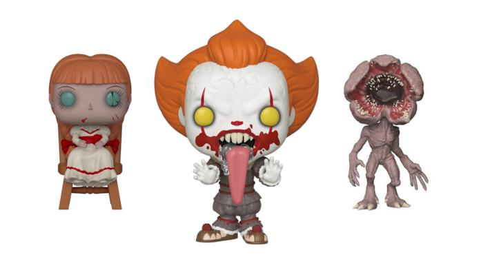 Annabelle, Pennywise e Dermogorgone