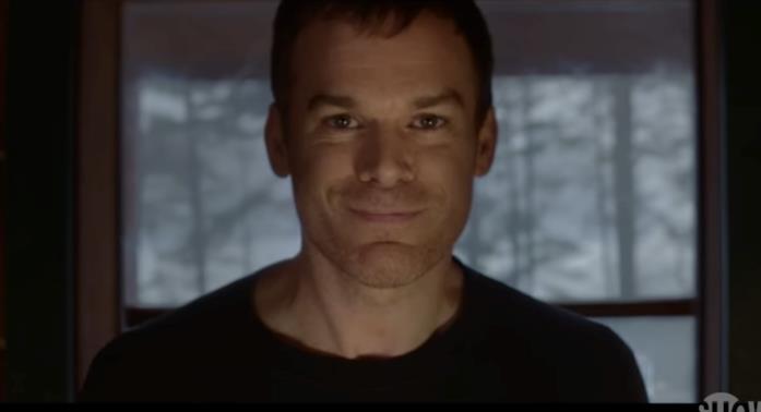 Un primo piano di Dexter nel teaser