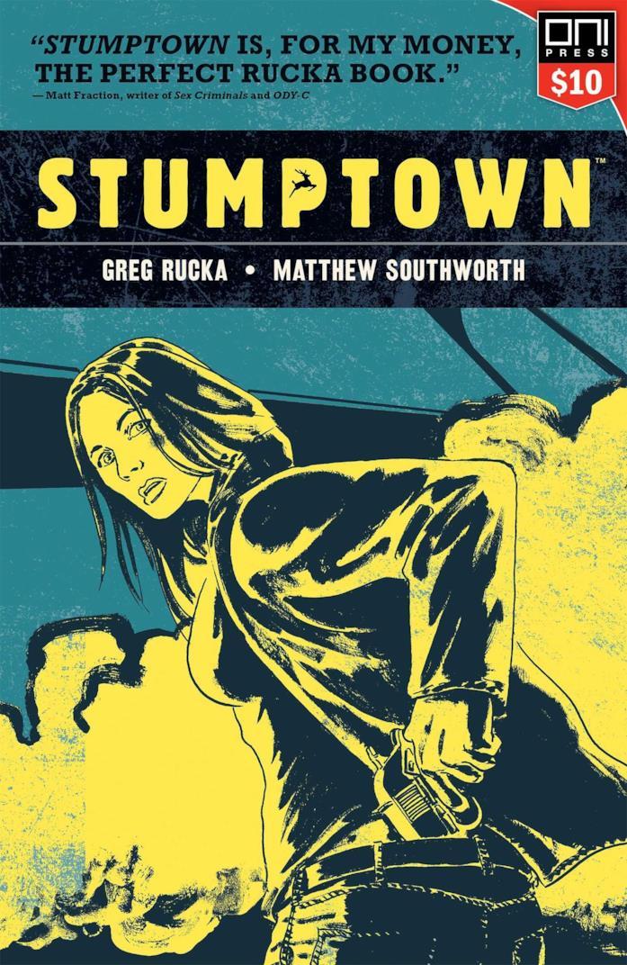 Stumptown, la copertina del fumetto