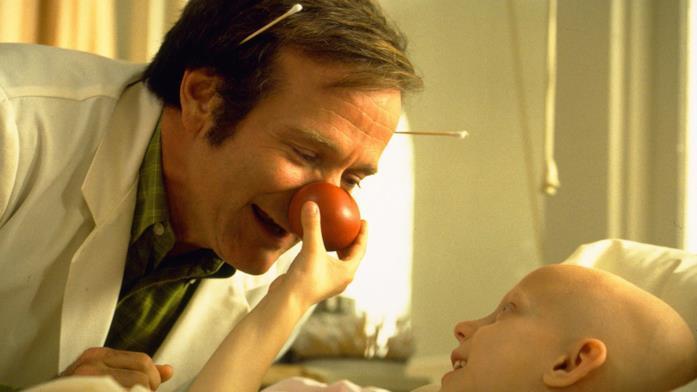 Un'immagine del film Patch Adams