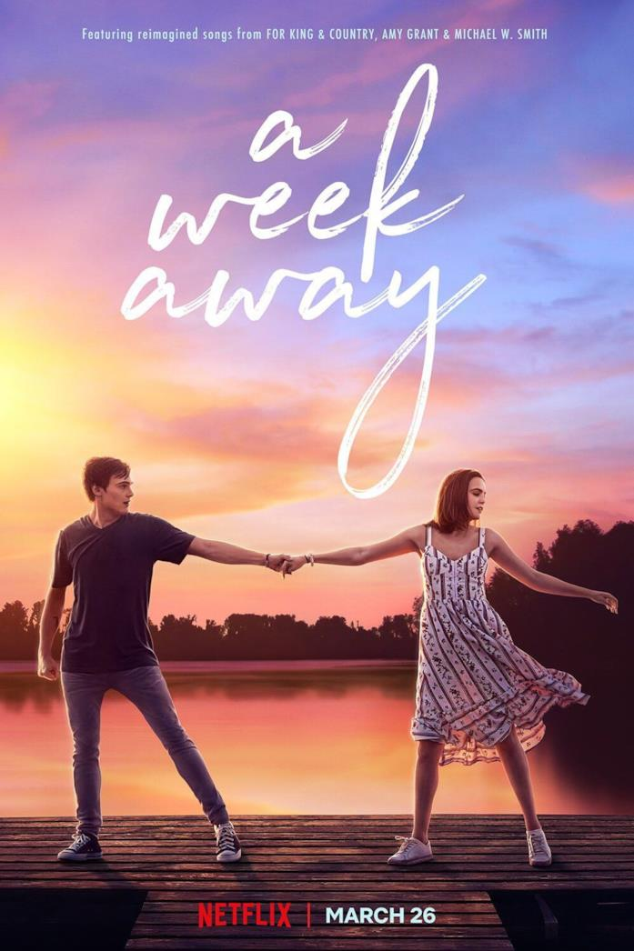 Il cast nella locandina di A Week Away