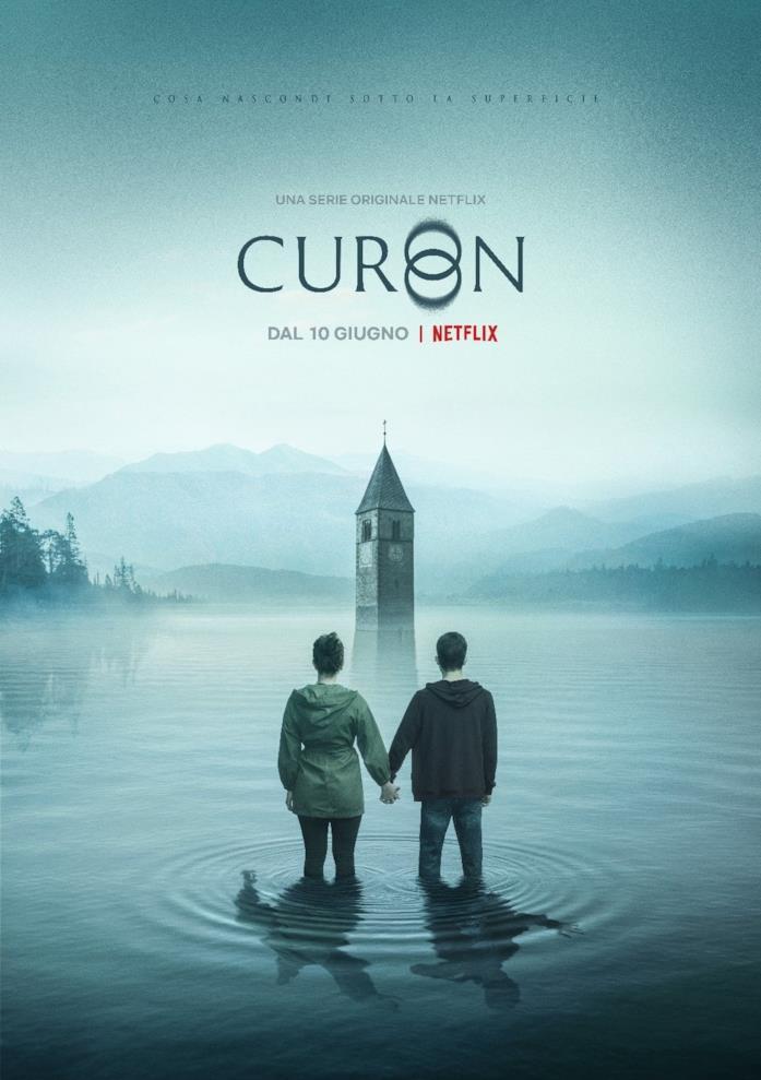 Federico Russo e Margherita Morchio nel poster di Curon
