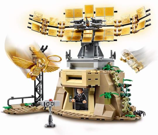 Wonder Woman LEGO e Cheetah LEGO in battaglia