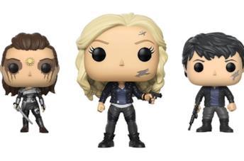 I Funko di Lexa, Clarke e Bellamy