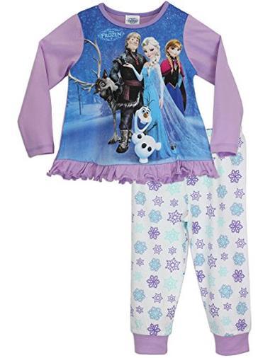 Disney Frozen - Pigiama a maniche lunghe per ragazze - 6 - 7 anni