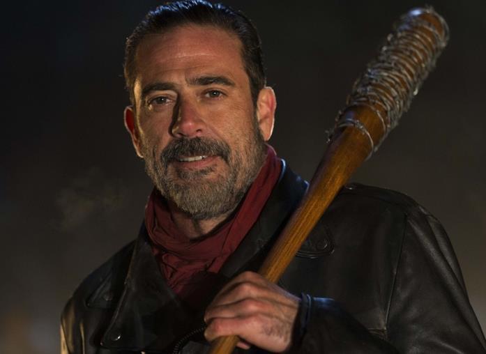 Jeffrey Dean Morgan nei panni di Negan in The Walking Dead