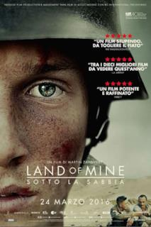 Poster Land of Mine - Sotto la sabbia