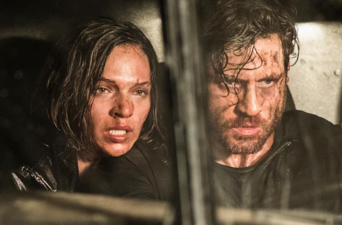 Shelby e Bricke feriti e in fuga