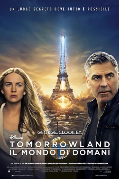 Poster Tomorrowland - Il mondo di domani