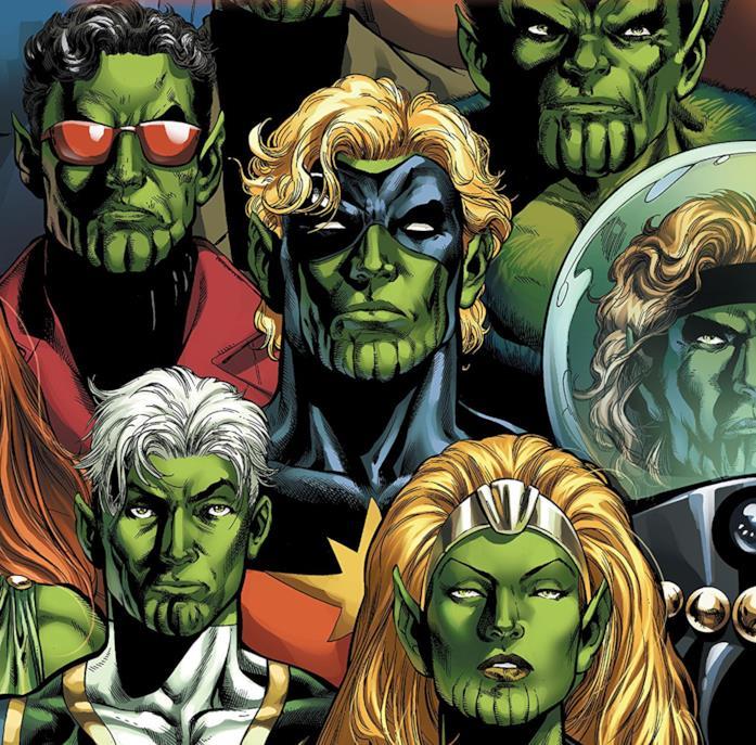 Dettaglio della copertina di Secret Invasion: Who Do You Trust?