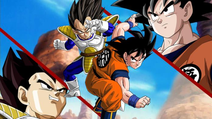 Un artwork fanmade di Dragon Ball Z: La Leggenda del Super Saiyan