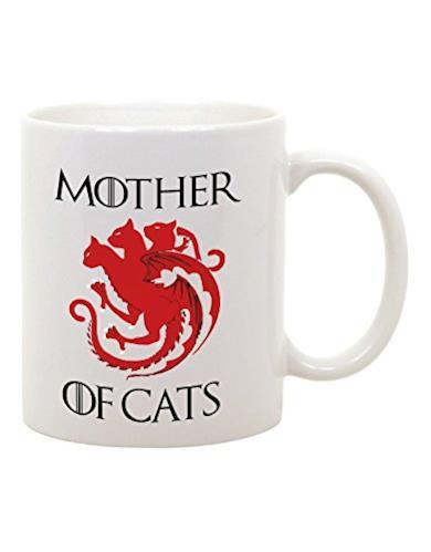 Tazza Mug in Ceramica Mother of Cats