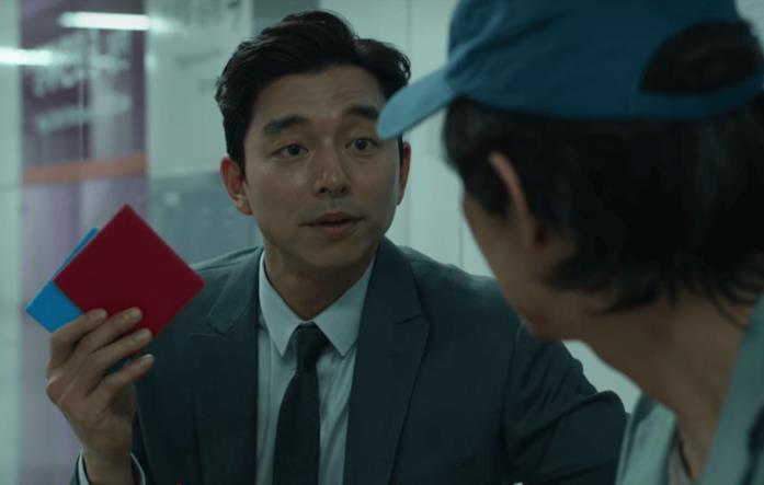 Il reclutatore propone a Gi-hun una scommessa
