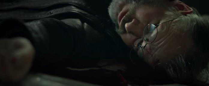 Michel Nabokoff in una scena del film La sentinella